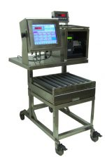 Carlisle Weigh / Label workstations are known throughout the industry for their sanitation-friendly rugged construction, ease of use, and reliability within the harshest processing environments.  These labelers weigh products, and quickly print high-quality barcode labels for pieces, cartons and pallets.  Incorporating the latest in glove-friendly touch-screen technology (12""